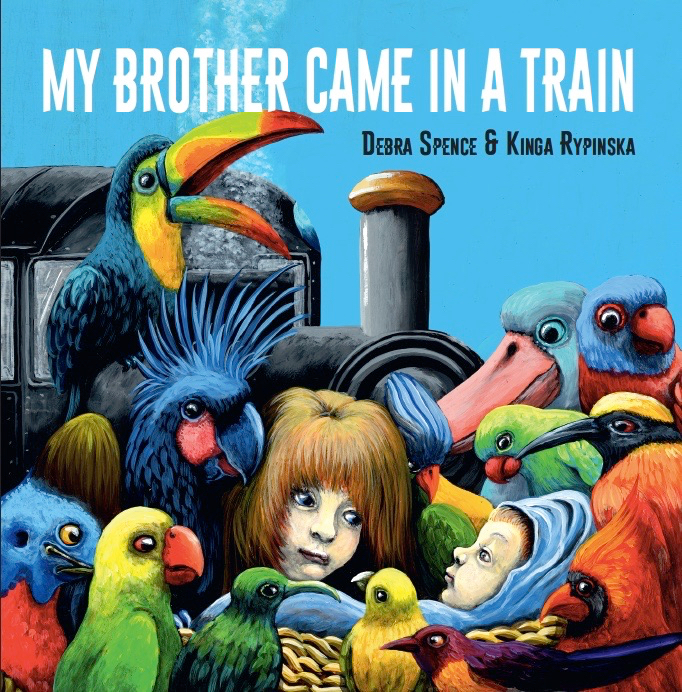 bilingual My brother came in a train